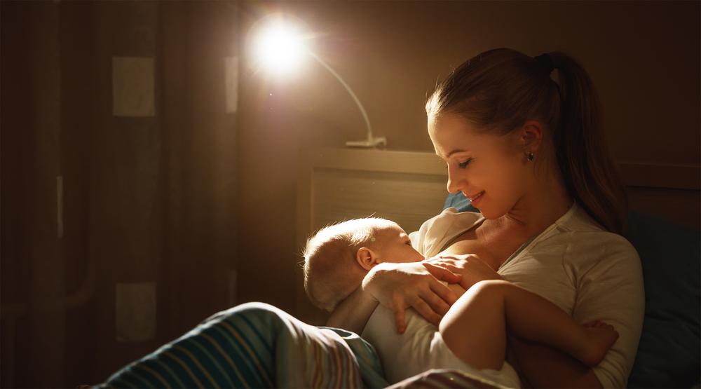 allaitement femme bebe nuit