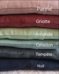 couleur coussin
